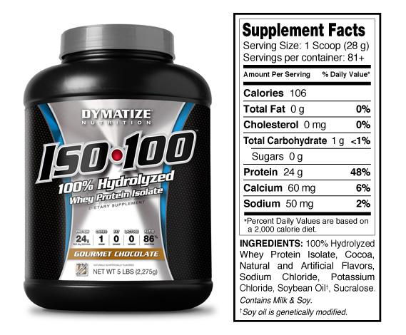 Dymatize Iso100 Biggies Athlete Supply